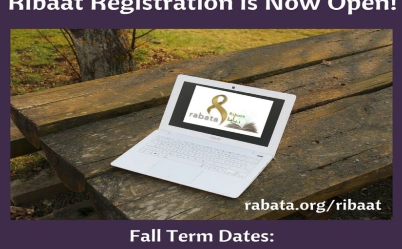 Ribaat Fall Registration