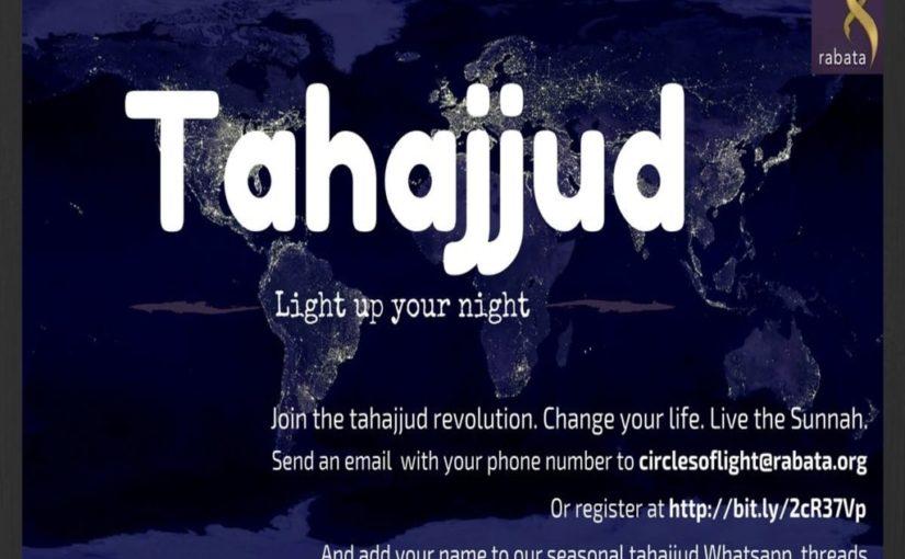 Tahajjud Threads are back!