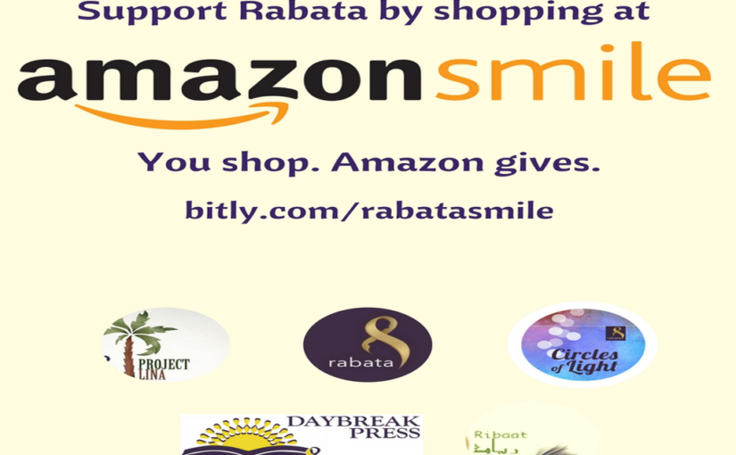 Support Rabata by Shopping at Amazon Smile