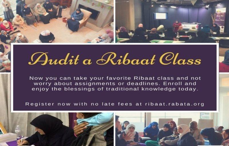 Audit a Ribaat Class!