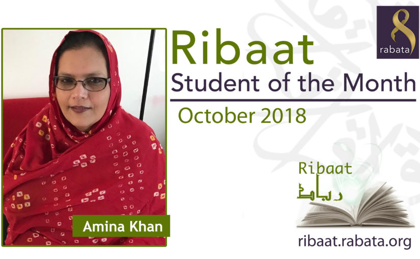 October 2018 – Amina Khan