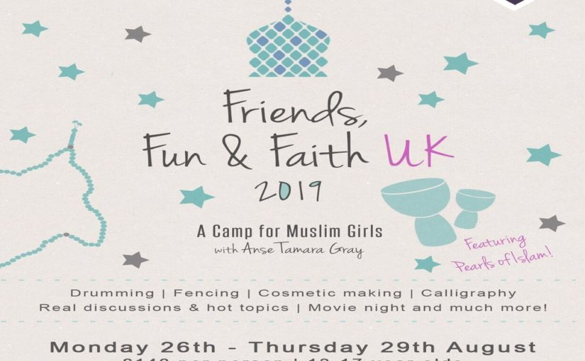Friends, Fun & Faith – UK