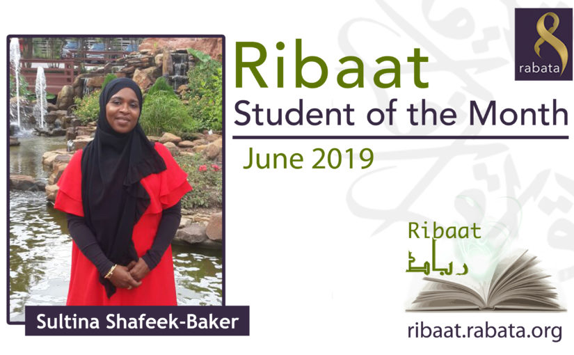 June 2019 – Sultina Shafeek-Baker