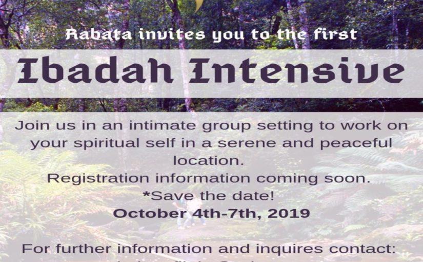 Ibadah Intensive Retreat