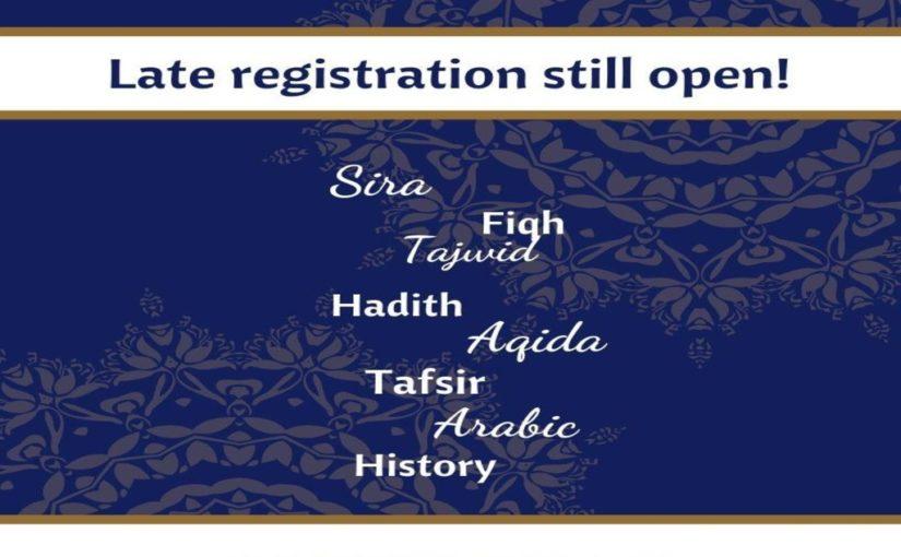 Ribaat Late Registration