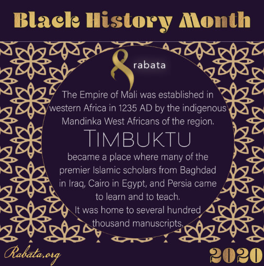 Black History Month - Timbuktu