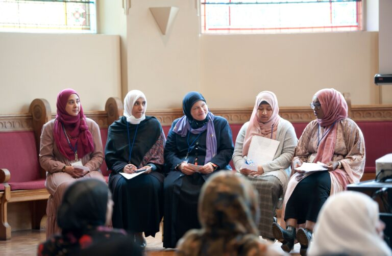 Muslim women speakers, authors, and journalists.